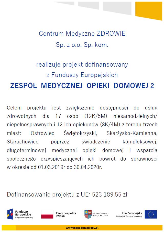 plakat promocyjny projektu ZMOD_2